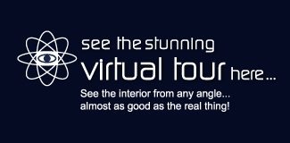 Take the virtual tour here - see the interior from any angle, almost as good as the real thing!