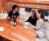 Luxury Dining on Yacht