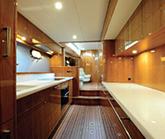 Luxury Yacht Galley