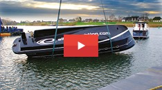View our Elling E4 yacht undergoing a 360 degree roll test