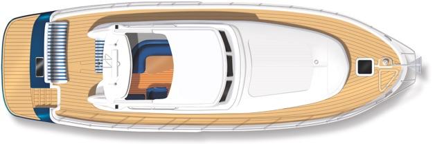 E3 yacht deck plan