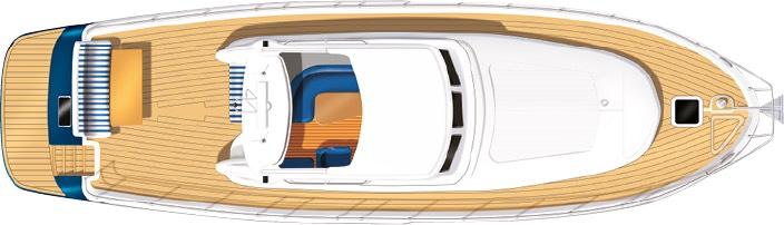 E4 yacht deck plan