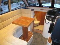 Square Sofa in Pilot House of Elling Yacht